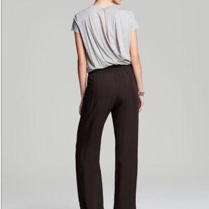 Splendid Small black & gray color pants jumpsuit